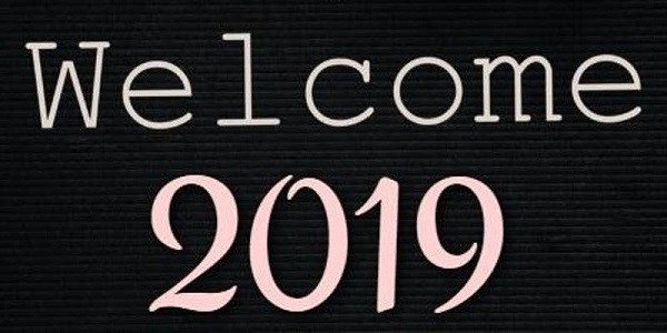 Welcome 2019 New Year Eve