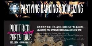 Montreal Party Tour New Years Eve 2018