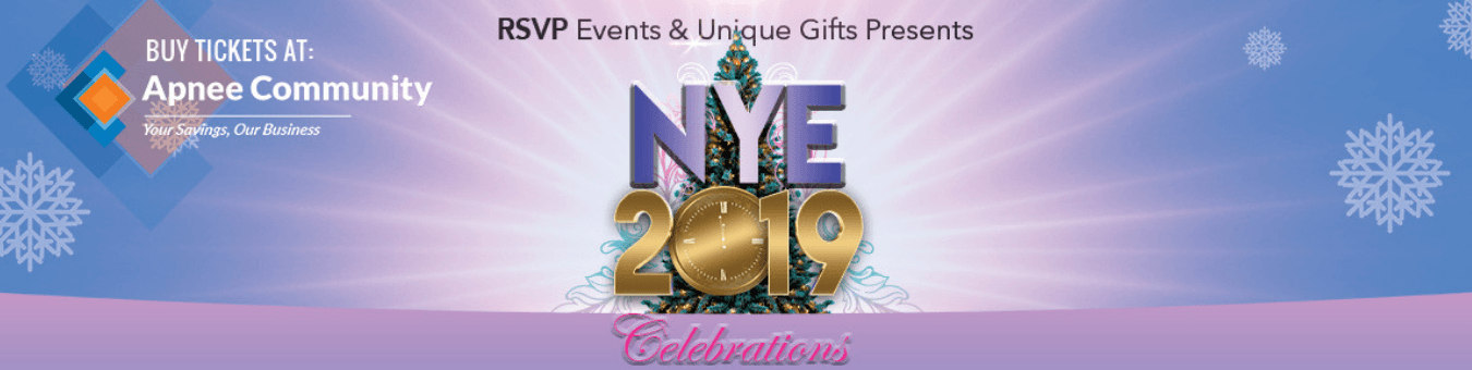 New Year's Eve 2019 Celebration by RSVP & Unique Gifts