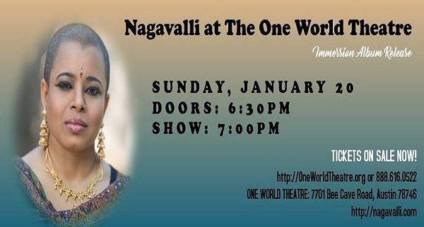 Nagavalli at the One World Theatre - 'Immersion' album release