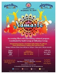Namaste - Cultural Event