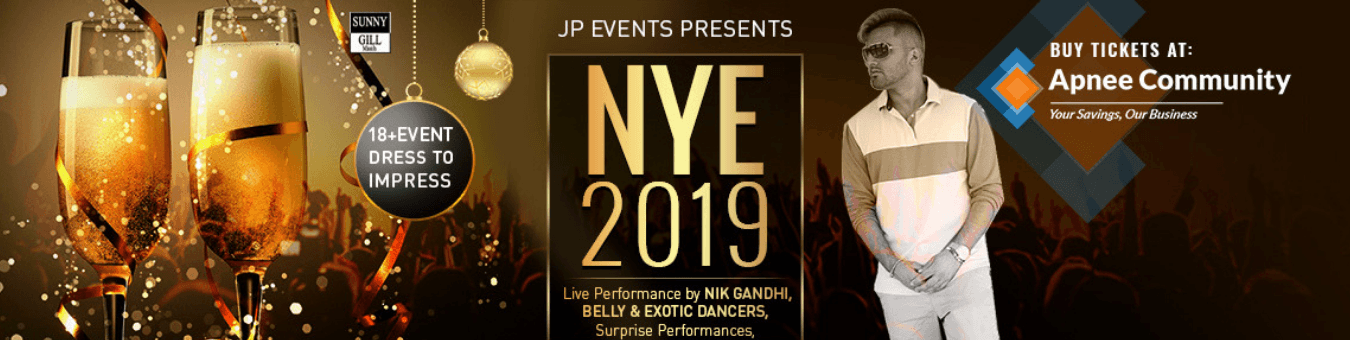 New Year's Eve 2019 by JP Events - ApneeCommunity
