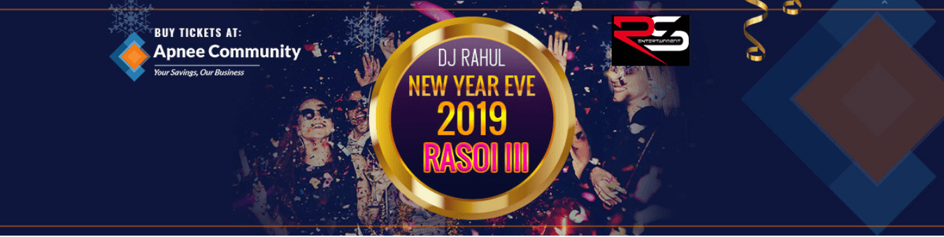 RASOI III New Year's Eve 2019- New Jersey
