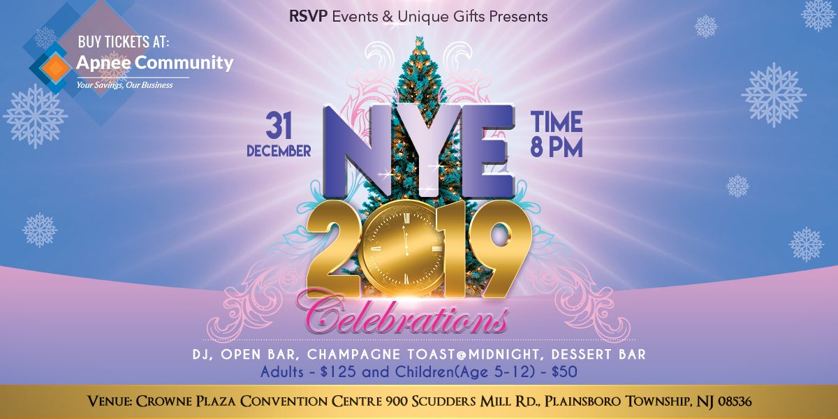 RSVP & Unique Gifts - NYE 2019 Celebration | USA