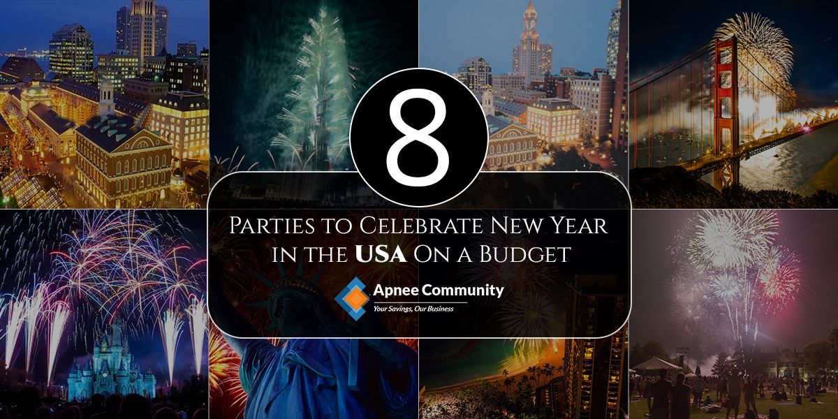 8 Parties To Celebrate New Year In The USA On A Budget