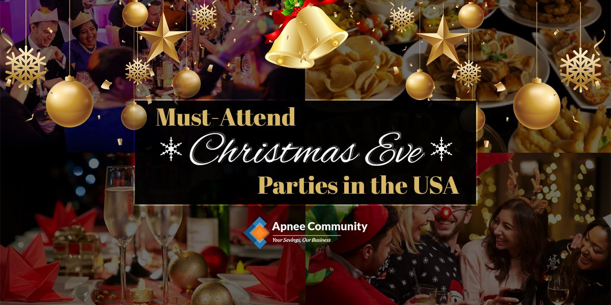 Must-Attend Christmas Eve Parties in the USA