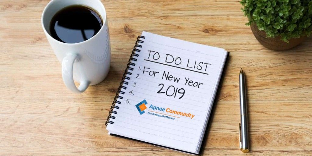 To-do List For New Year 2019 - upcoming events