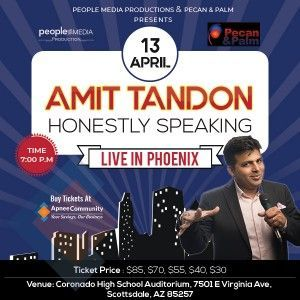 Stand-Up Comedy by Amit Tandon in Phoenix