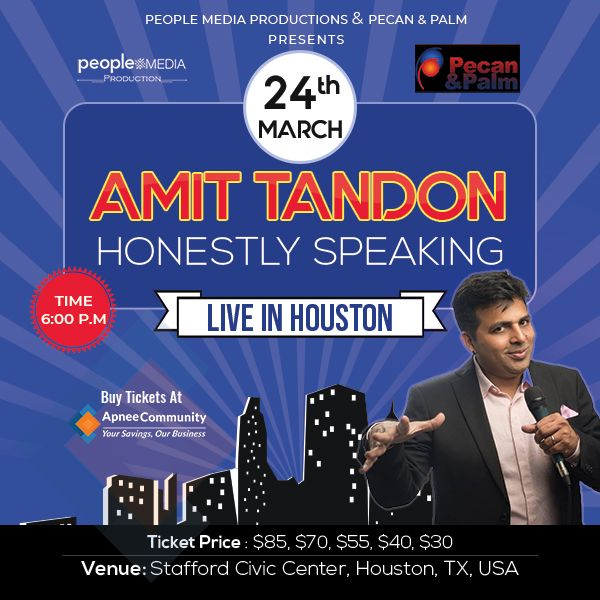 Amit Tandon Stand-Up Comedy: Live in Houston