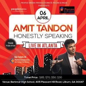 Honestly Speaking - Amit Tandon Stand-Up Comedy: Live in Atlanta
