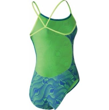 NIKE Women's Far Out Cut-Out One-Piece Swimsuit