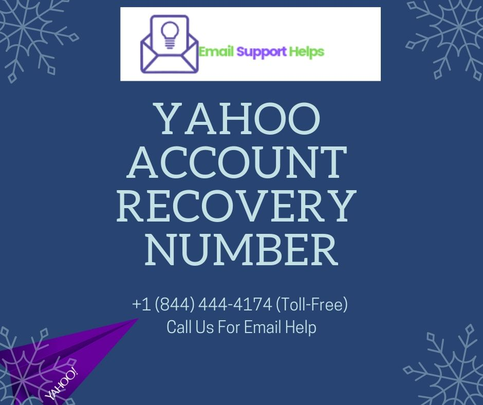 Yahoo Account Recovery Number