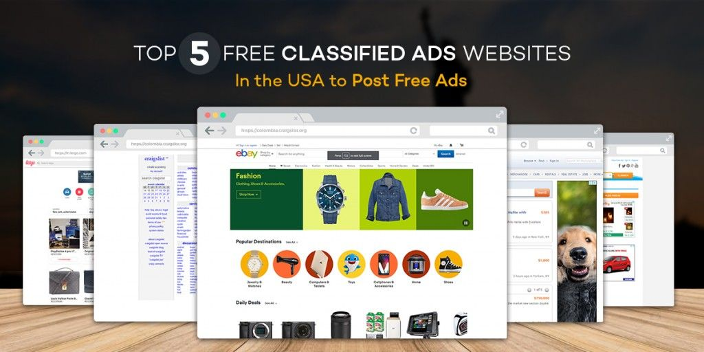 Top 5 Free Classified Ads Websites in the USA to post free ads - apneecommunity blogs