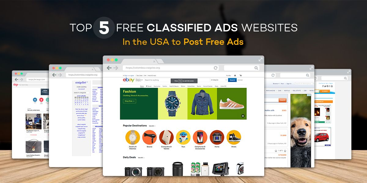 Top 5 Free Classified Ads Websites in the USA to Post Free Ads
