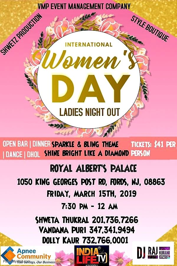 Women's Night Out March 15th