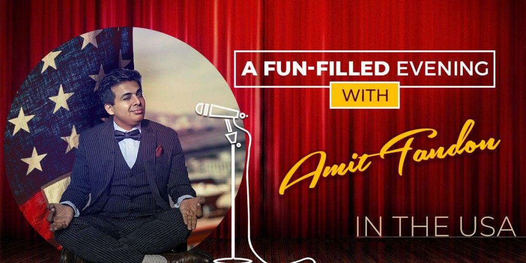 A fun-Filled Evening with Amit Tandon USA Tour - APneeCommunity