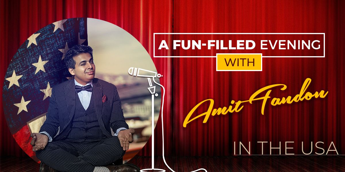 A Fun-Filled Evening with Amit Tandon in the USA