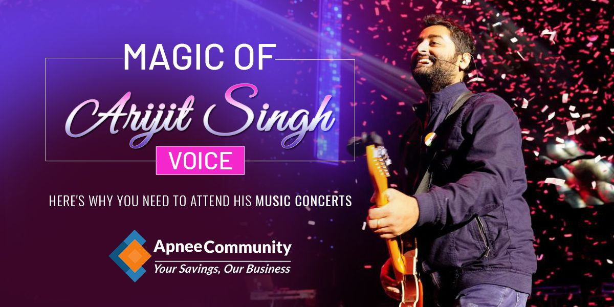 Magic of Arijit Singh Voice - Here's Why You Need to Attend His Music Concerts