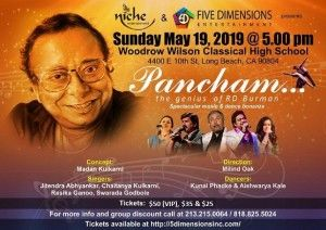 Pancham - The genius of R D Burman in LA - ApneeCommunity