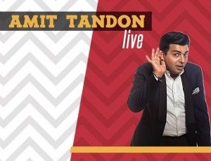 Amit Tandon Stand-Up Comedy Live in Chicago - ApneeCommunity