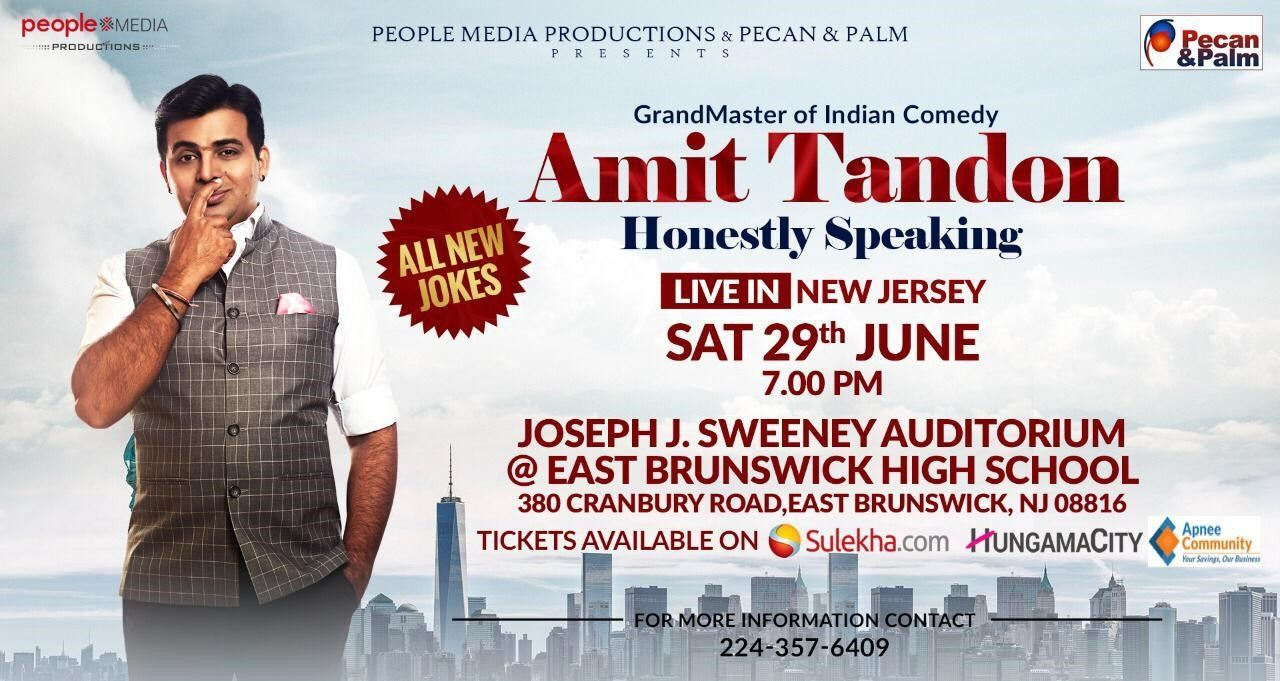 Amit Tandon New Jersey 2019
