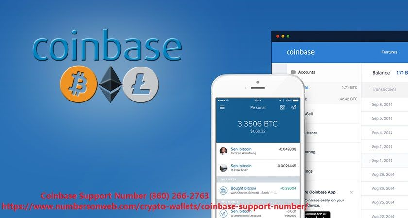 Coinbase Support number (860) 266-2763