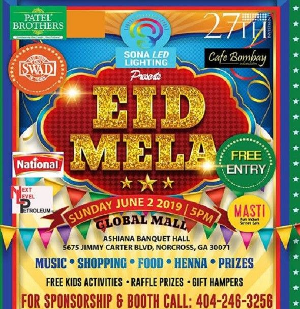 Eid Mela June 2nd 2019