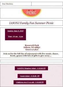 Iasonic family picnic