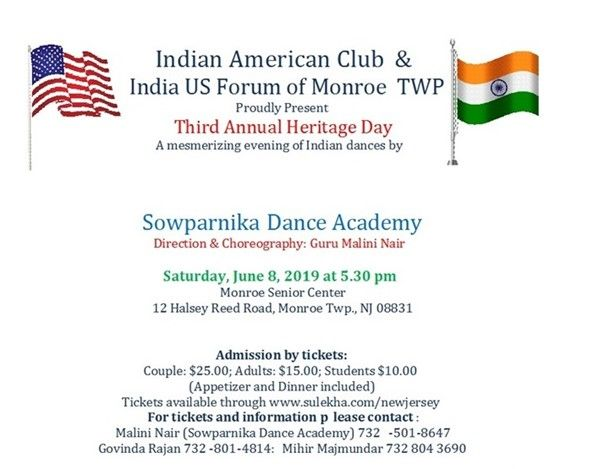 Indian heritage June 8th