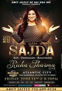 Richa Sharma - Live in concert