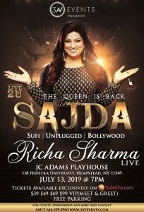 Richa Sharma New York