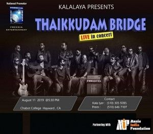 Thaikkudam Bridge CA