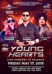 Young Hearts Live Concert in Atlanta - ApneeCommunity