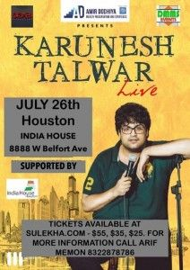 Karunesh Talwar in Houston
