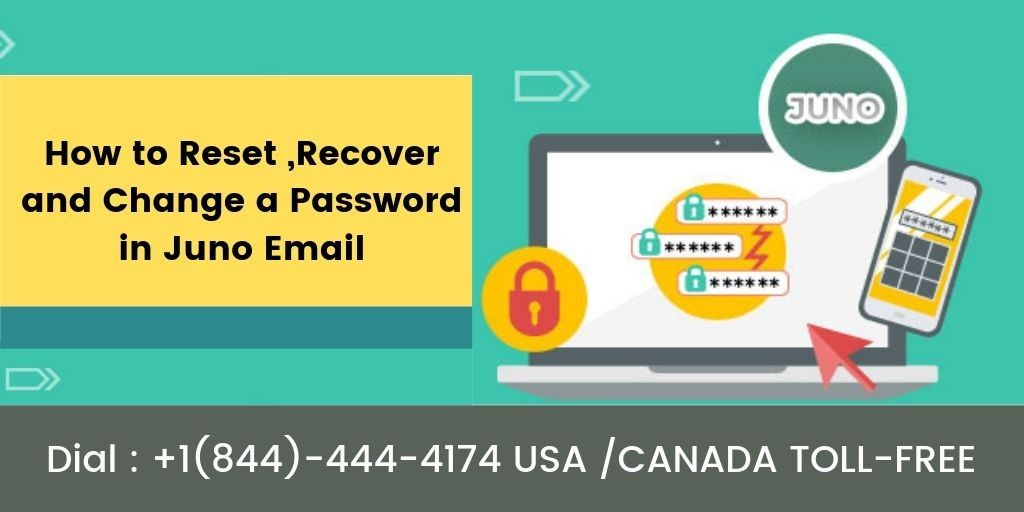 How to Reset,Recover and  Change a password in Juno Email