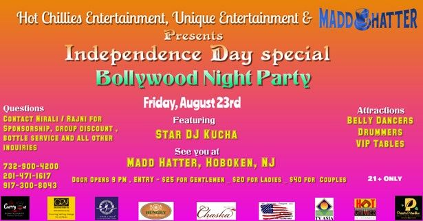Independence day Special bollywoos party