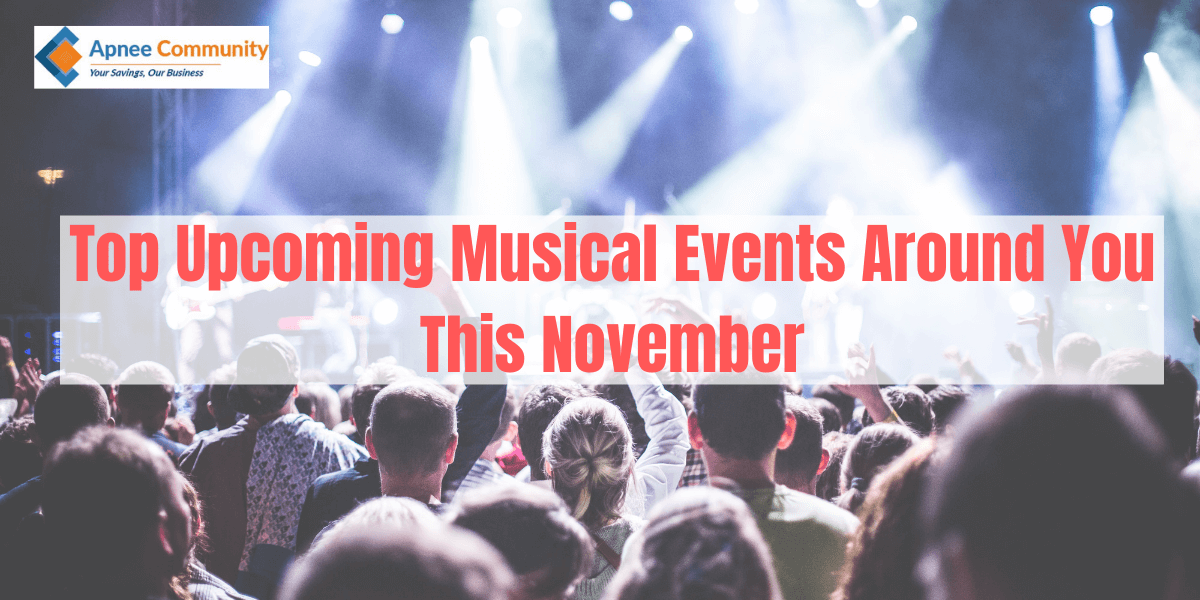 Top Upcoming Musical Events Around You This November