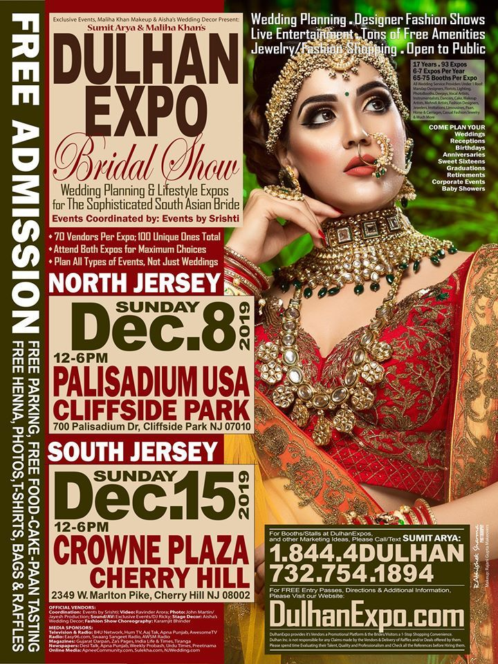 Dulhan Expo Dec 8th