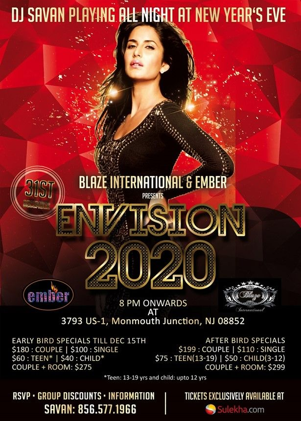 Ember Banquets New Year Eve