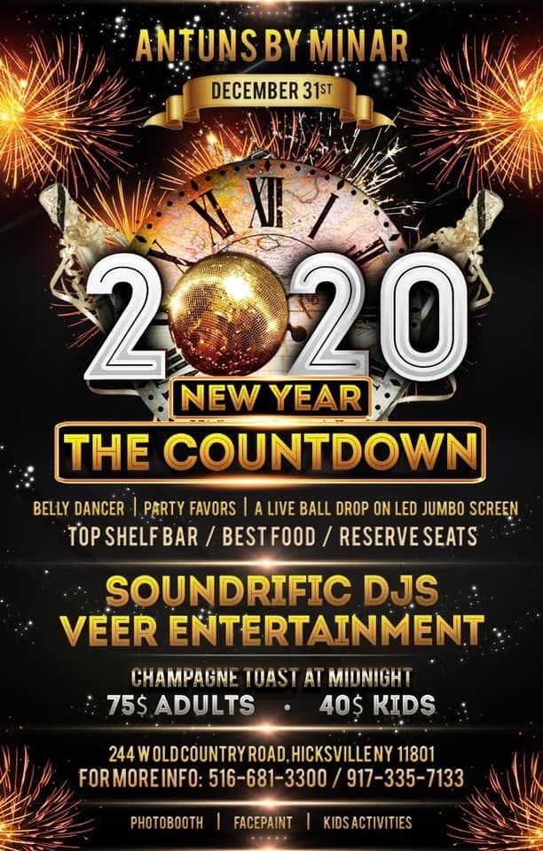 New Year The Countdown Antuns