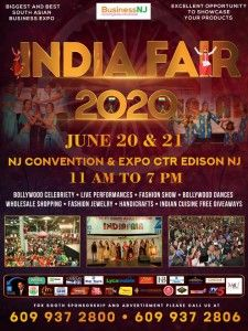 India Fair 2020 In Edison, New Jersey