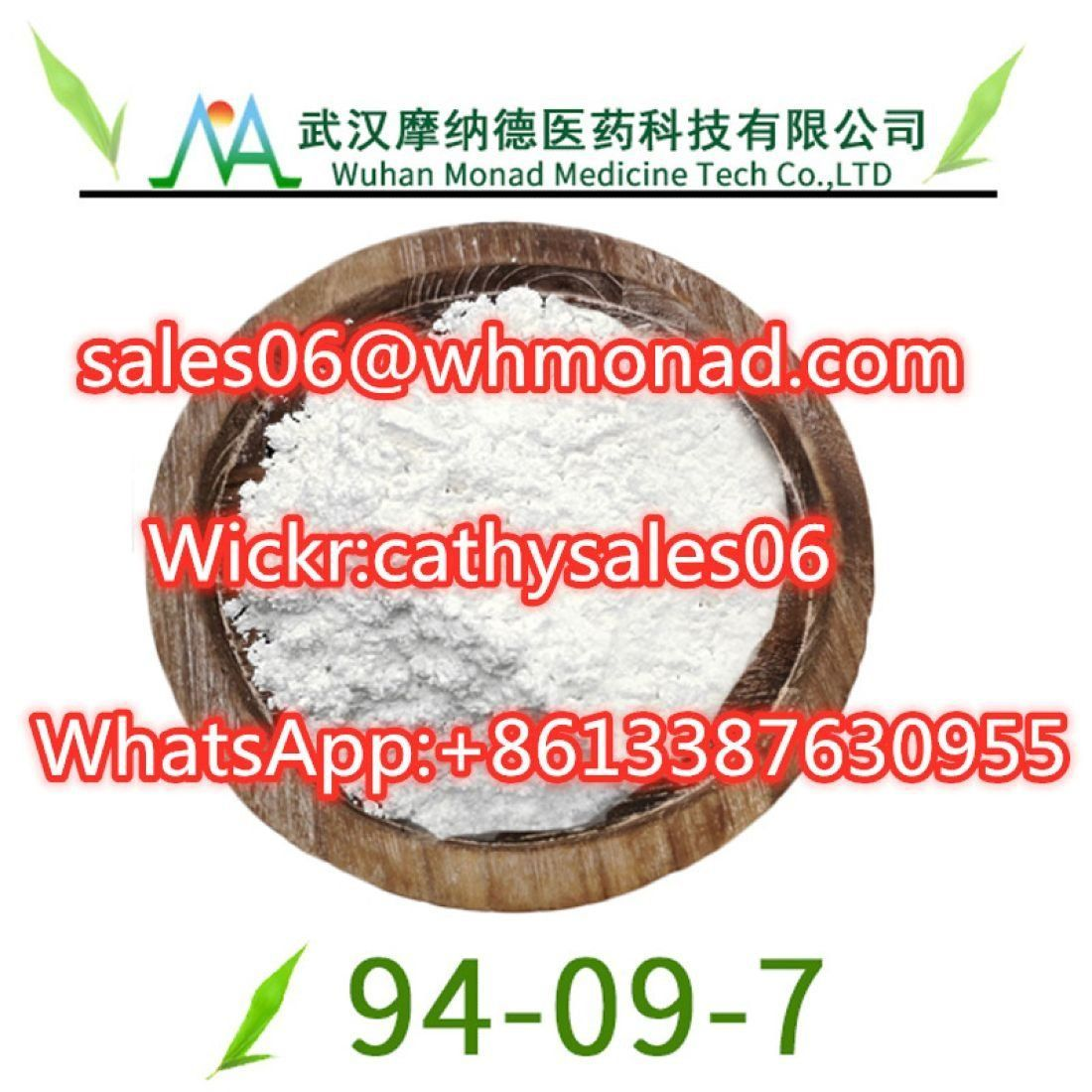 Sell 99.9% Benzocaine CAS 94-09-7 Manufacturer Supply