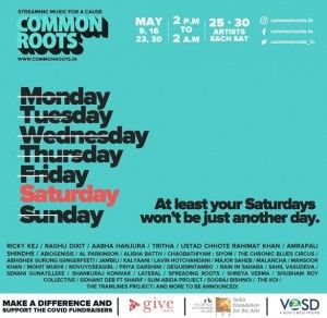 CommonRoots.in A Social Cause Music Festival – Online