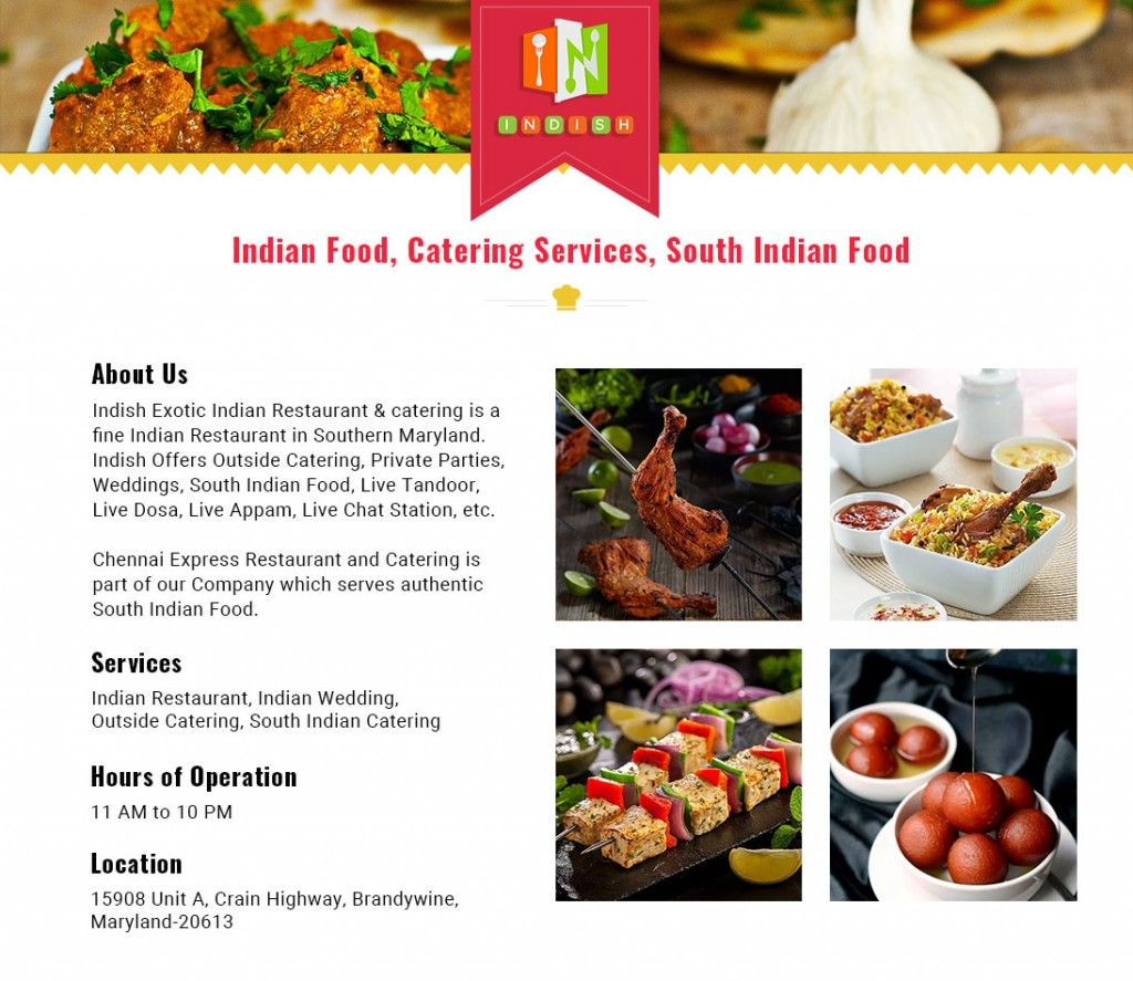 Indish Exotic Indian Restaurant & Bar-MD