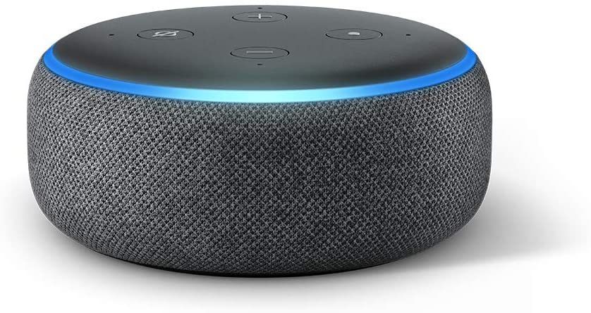 Echo Dot (3rd Gen) – Smart speaker with Alexa – Charcoal