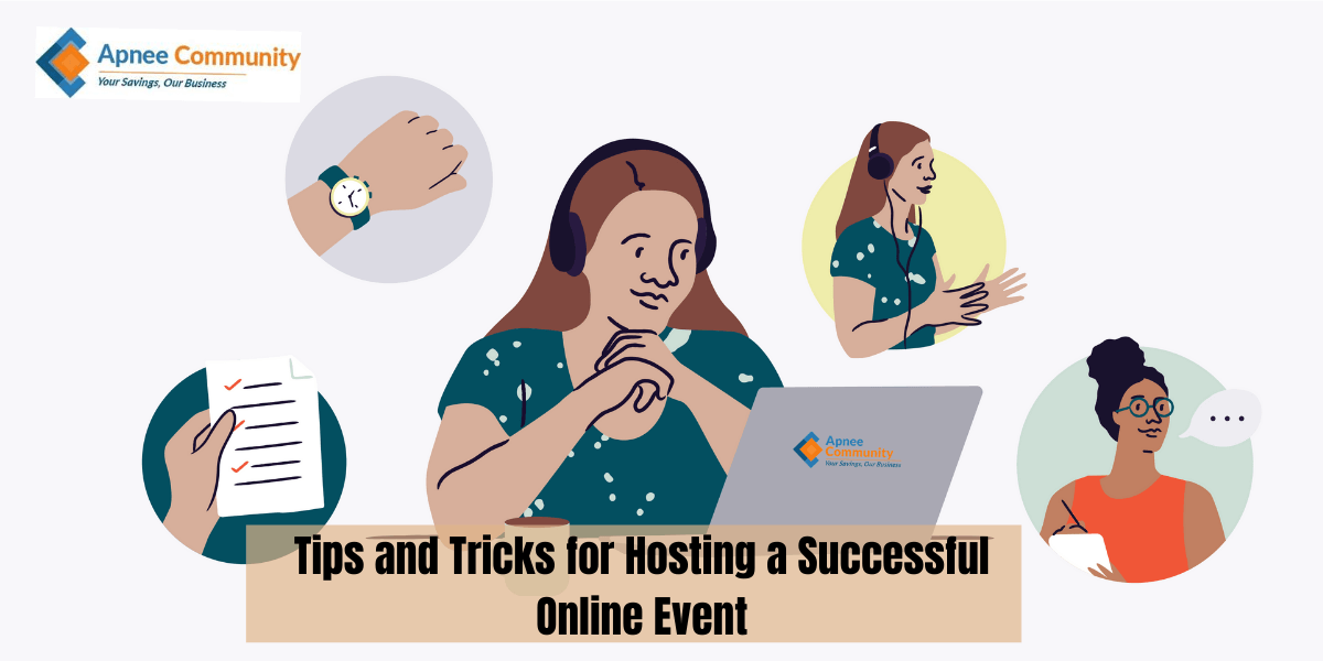 Tips and Tricks for Hosting a Successful Online Event