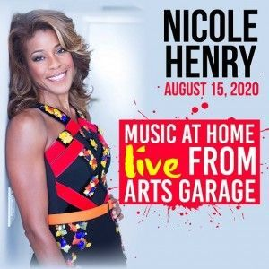 Nicole Henry – Music at Home Live From Arts Garage