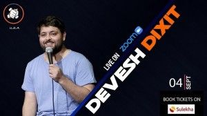 Punchliners Comedy Show Ft Devesh Dixit Live on Zoom – USA