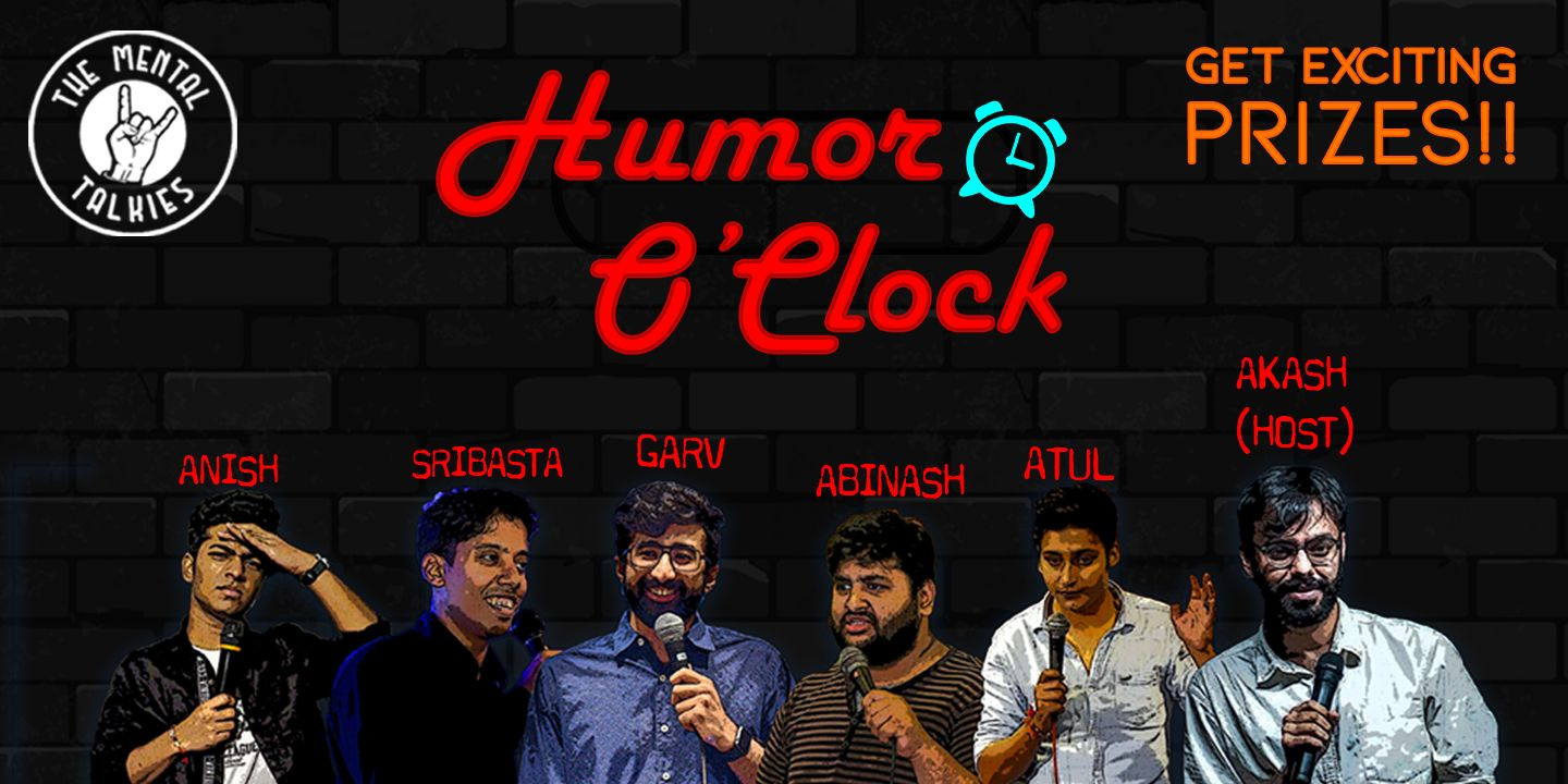 Humor O'Clock-Stand Up Comedy