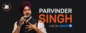 Punchliners Comedy Show – Parvinder Singh- USA/Canda